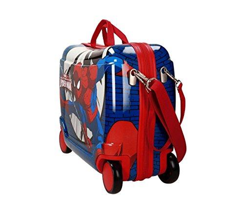 2169961 Maleta trolley correpasillos ABS equipaje de mano SPIDERMAN 50x39x20cm