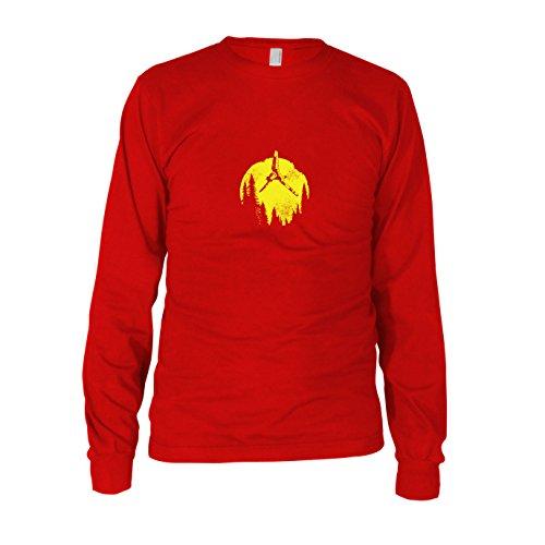 SW: Endor Flight - Herren Langarm T-Shirt, Größe: XXL, Farbe: ()