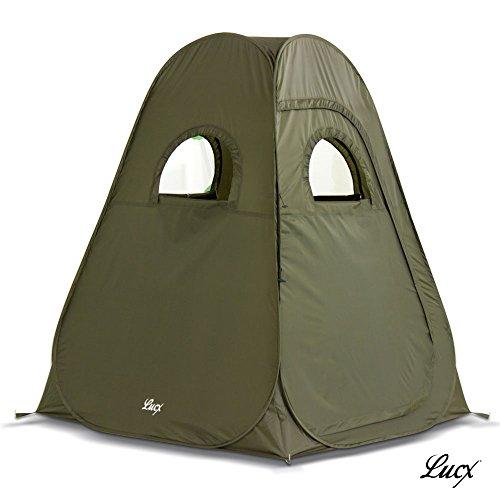 Lucx® Zelt Pop Up Zelt/Angelzelt/Jagd Zelt/Sekundenzelt/Campingzelt 200x150x150cm sofort einsatzbereit