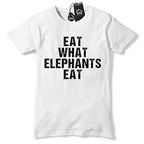 Eat What Elephants Eat T Shirt