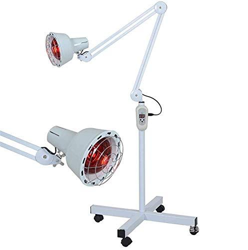 DULAMP 275W Infrarot Hitze Lampe Fußboden Stand Professionel Licht Schmerzen Linderung Muskel Haut Akupunktur Therapie Schönheit Salon Mit Räder Birne