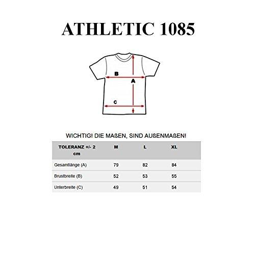 BOLF Herren Tanktop T-Shirt Tee Ärmellos Motiv Classic Army Kurzarm 3C3 Camo Dunkelblau_1085