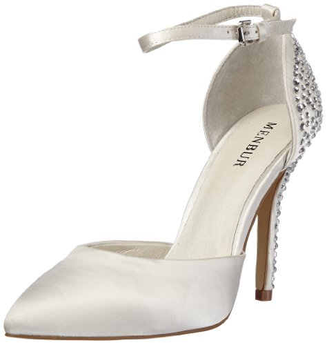 Menbur Wedding Tina 5683 Damen Pumps, Elfenbein (Ivory 04), EU 38