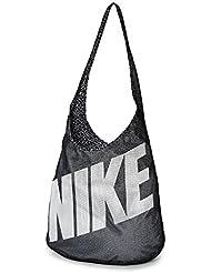 Nike Graphic Reversible Tote - Bolso para mujer, color negro, talla única