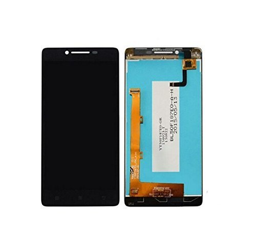 Lenovo A6000 & A6000 Plus IPS LCD Display with Touch Screen Digitizer Glass Combo - Black