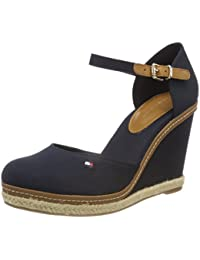 Tommy Hilfiger Iconic Basic Closed Toe Wedge, Alpargata Para Mujer