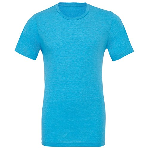 Bella Canvas Herren Modern T-Shirt Aqua Triblend