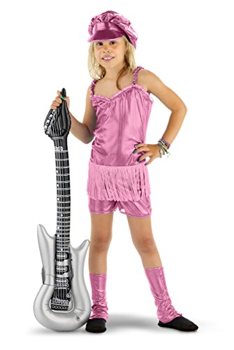 r-Mädchen 3-Stück Kostüm Packung, Größe L, rosa (Rocker-mädchen Halloween-kostüm)