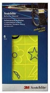 3M Scotchlite 3M-1002 - Aufkleberset 6-teilig