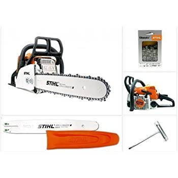 stihl tronconneuse thermique ms 170 d en guide de 35 cm. Black Bedroom Furniture Sets. Home Design Ideas