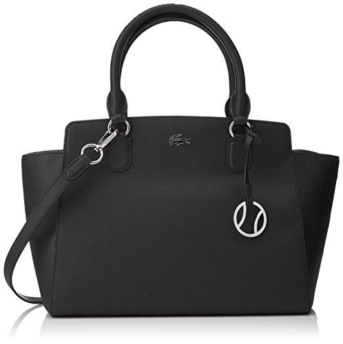 e8fdf0018d Lacoste NF2269DC femme Daily Classic Sacs bandouliere Noir (Black) Lacoste  Lacos
