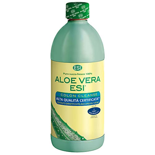 Esi Aloe Vera Succo Colon Cleanse Integratore Alimentare - 1000 ml