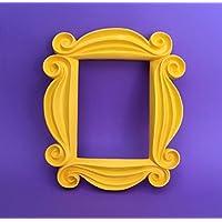Handgearbeitete Replica des FRIENDS Rahmen in gelb und Originalgrösse bekannt von Monicas Apartment Tür der TV Serie FRIENDS
