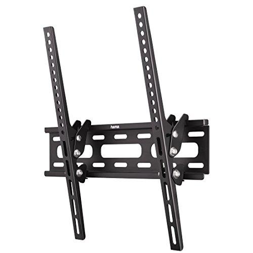 Hama TV-Wandhalterung Motion, neigbar, für 81 cm - 142 cm Diagonale (32 bis 56 Zoll), für max. 30 kg, VESA bis 400x400, schwarz Diagonale Tv