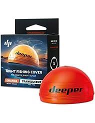 Couvercle pour la pêche nocturne Deeper (orange) – Compatible avec les sondeurs de la séries Deeper Pro