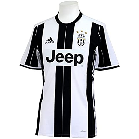 Camiseta Home Autentica blanco negro 16/17Juventus Adidas, 9 Higuain, Medium