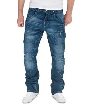 Jack & Jones Herren Denim Hose by Bestseller Jeans H/M 2013 Star MOD 6183 blau D.G