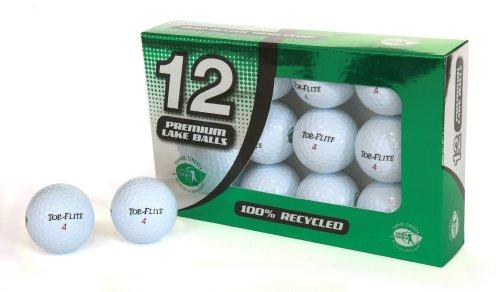 Second Chance Top Flite 12 balles de golf recyclées de catégorie A