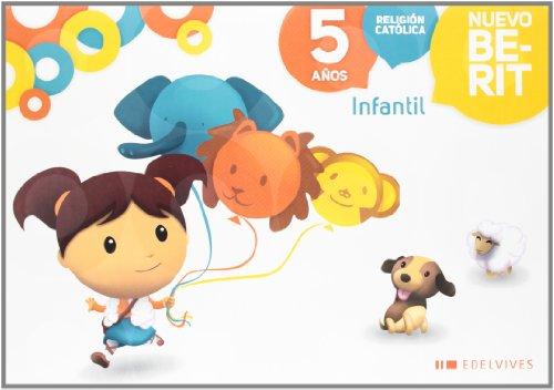 Religión Católica Infantil 5 años (Nuevo Berit) - 9788426383587