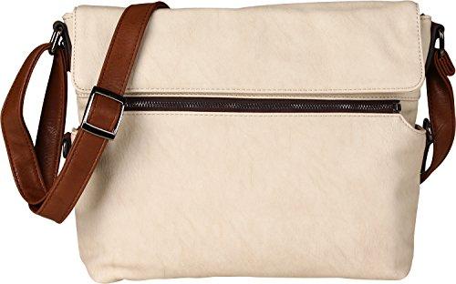 Maestro Twinbag 1 borsa a tracolla 30 cm Ice / Cognac (Beige)