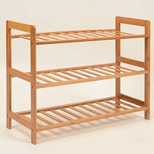 XUE Schuh-Rack, Schuhveranstalter-Speicher Shelf Hold Up Bathroom Living Room Corridor Boot Storage Schuh Box Free Standing Storage mit Seat Sneaker Simple Home Bamboo Shelf (Sneaker Box-speicher)