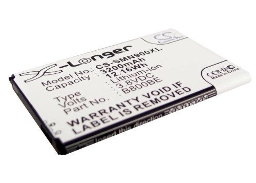 VINTRONS Rechargeable Battery 3200mAh For Samsung SM-N9008 SM-N900 Galaxy Note 3 SM-N900K SMN900VZWE  available at amazon for Rs.2609