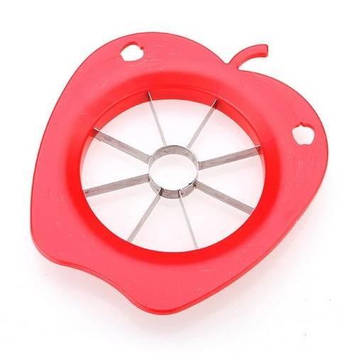 mark8shop Fruit Apple Cutter Schneide Birne Entkerner Trennwand Cutter Küche Werkzeug Pear Cutter