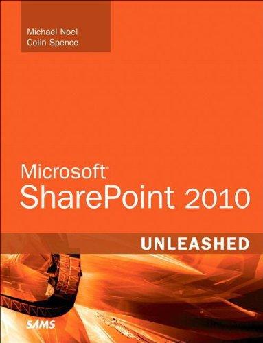 Microsoft SharePoint 2010 Unleashed