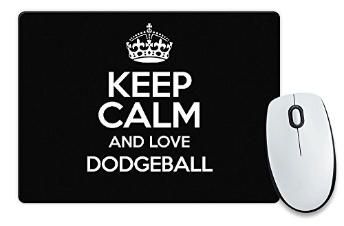 black-keep-calm-and-love-dodgeball-mouse-mat-colour-0832