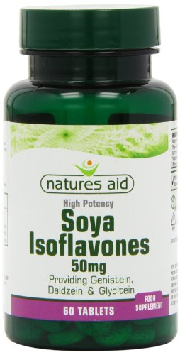 Natures Aid Isoflavones Conc Tablets 38mg Pack of 60