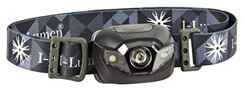 Preisvergleich Produktbild I-Lumen extrem leichte LED Stirnlampe mit Kopfband dimmbar nur 48 Gramm