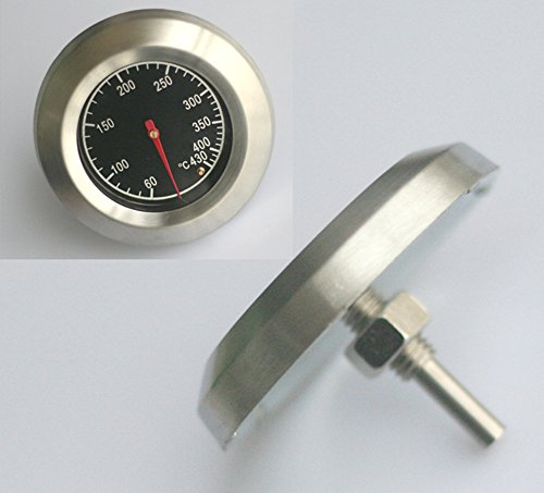 Thermometer Bratenthermometer Grillthermometer Edelstahl BBQ Gasgrill 430°C