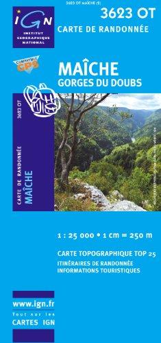 Maiche/Gorges du Doubs GPS: IGN.3623OT