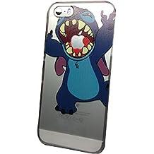Phone Kandy® Manzana Clear / estuche rígido transparente caja del teléfono móvil carcasa funda (iPhone 6 Plus, Stitch)