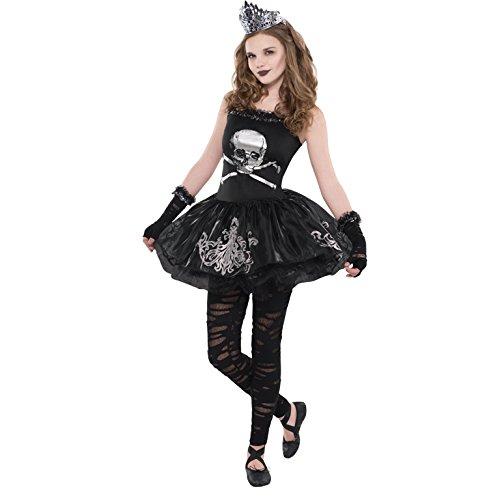 Mädchen Zomberina Neu Kinder Mädchen Zombie Ballerina Kostüm -