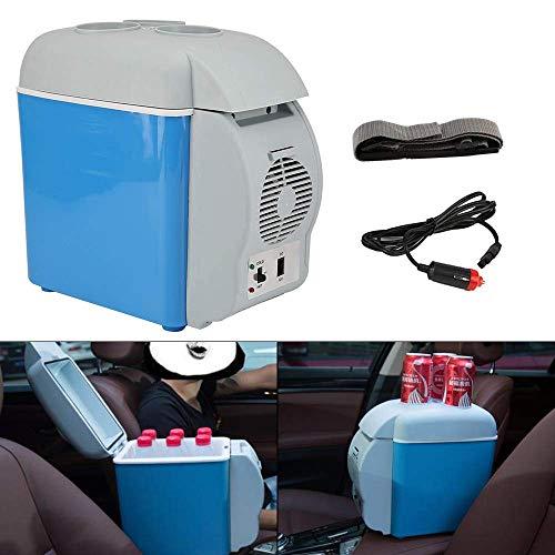 TYZXR 7,5 Liter Mini-Auto-KüHlschrank, Tragbare Elektrische KüHlbox WäRmer Picknick Im Freien