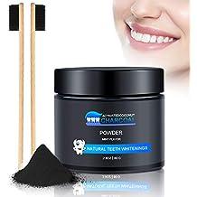 Polvo de Dientes, Polvo de Blanqueamiento de Carbón Activado Natural, Teeth Whitening Powder,