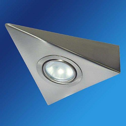 Halogen Dreieck-Unterbauleuchte MATTCHROM 12V 20W