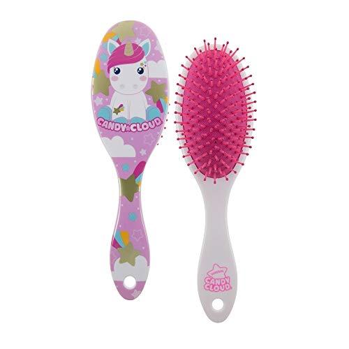 Candy Cloud-Cepillo redondo cabello Fin Tapa Dura