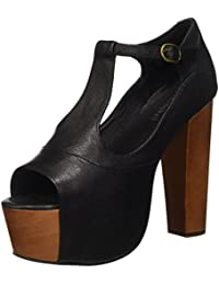 Jeffrey Campbell Foxy Leather, Sandali con tacco, Donna