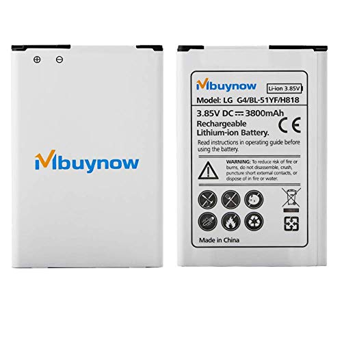 Mbuynow LG G4 3800 mAh Batería Repuesto Alta Calidad
