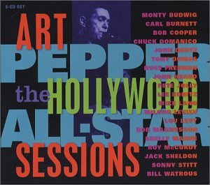 Hollywood All Star Sessions by Art Pepper