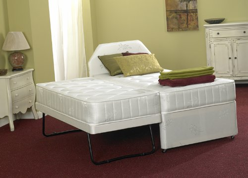 single 3 in 1 guest bed with deep quilted mattress