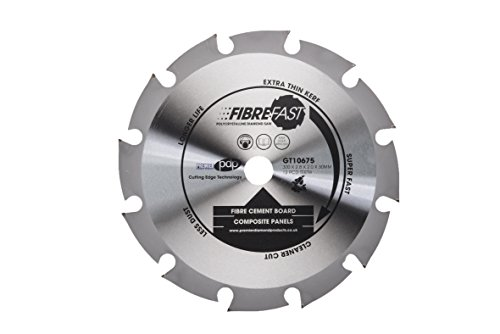 cd fibrefast 6Zähne Polykristalline Klinge für Faserzement Board, silber, 150x 20mm, silber, GT10675, 0 voltsV ()