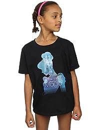 Disney Fille Princesses Cinderella Filled Silhouette T-Shirt