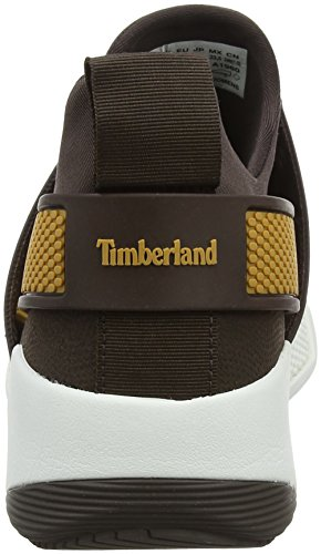 Timberland Kiri Up Knit, Scarpe Stringate Oxford Donna Grigio (Mulch/taupe Grey A66)