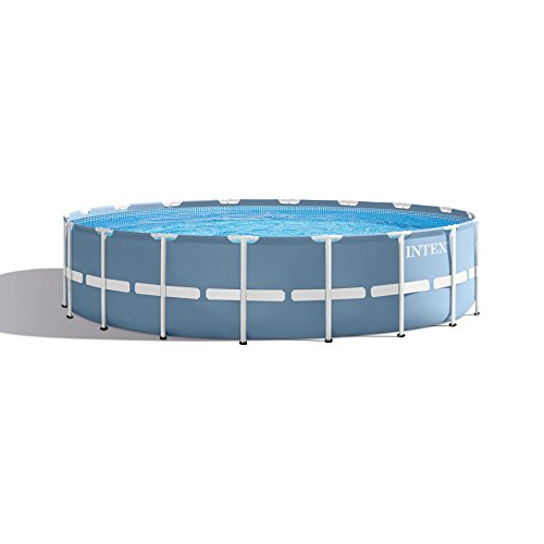 Metall-frame Pool-set (Intex Prism Rondo Frame Pool Set, 16805 liters, Blau, Durchmesser 457 x 122 cm)