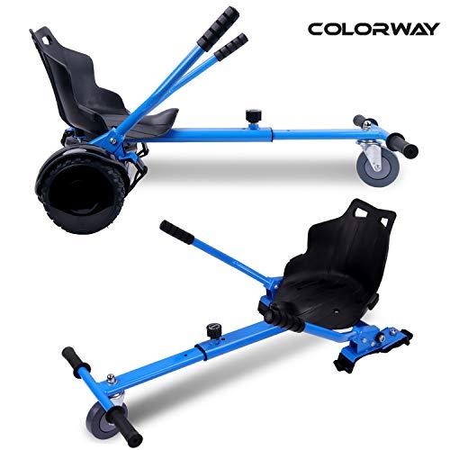 Colorway Sitzscooter Hoverkart Go-Kart Sitz für Hoverboard Elektro Scooter Self Balancing Scooter Kompatibel mit Allen 6,5, 8.5zoll und 10 Zoll