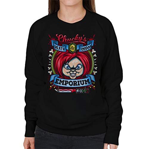 Cloud City 7 Chuckys Death and Voodoo Emporium Women's Sweatshirt