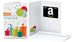 Idea Regalo - Buono Regalo Amazon.it - €50 (Biglietto d'auguri Coriandoli)